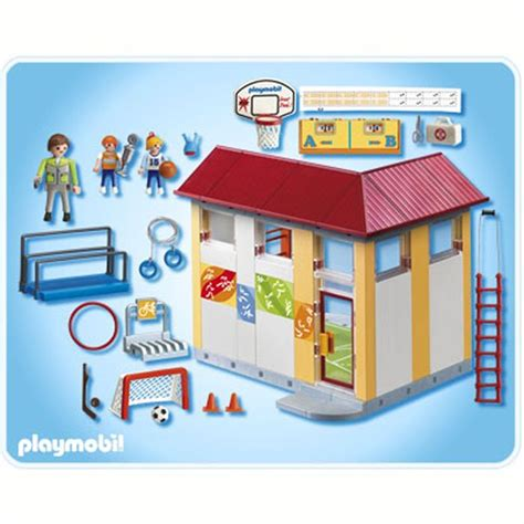 playmobil 4325 gymnase achat vente univers miniature cdiscount