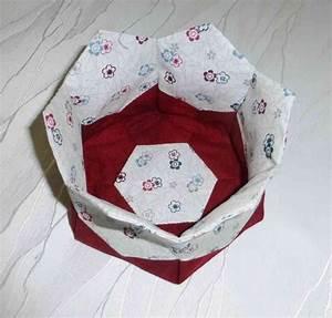 Einen Korb Bekommen Englisch : anleitung f r k rbchen hexagon handn hprojekt hexagon pinterest ~ Orissabook.com Haus und Dekorationen