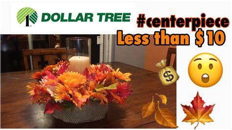 dollar tree diy fall centerpiece under 10 youtube