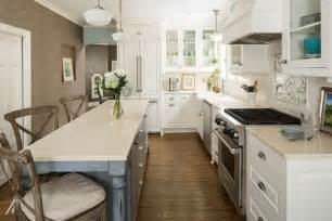 Narrow Kitchen Ideas Home by