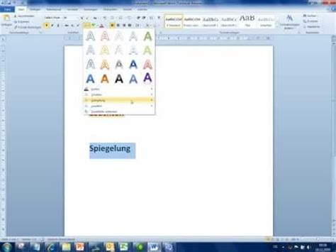 microsoft office  word  schrifteffekte