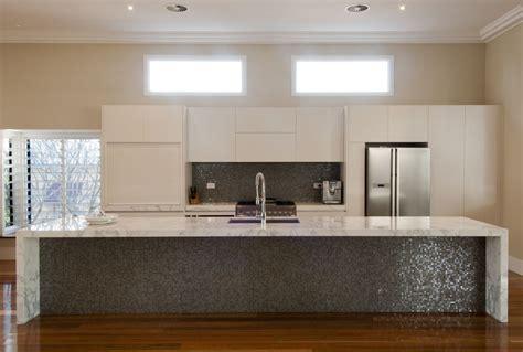 carrara marble kitchen island corinda kitchen by makings of kitchens bathrooms