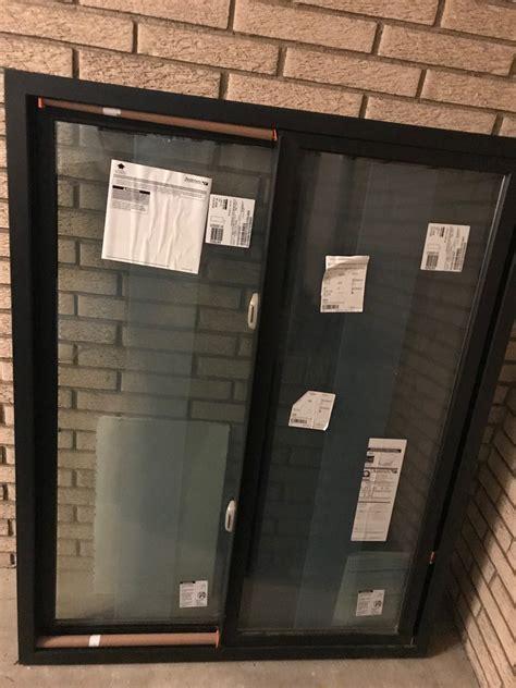 brand  andersen  series black frame windows diggerslist