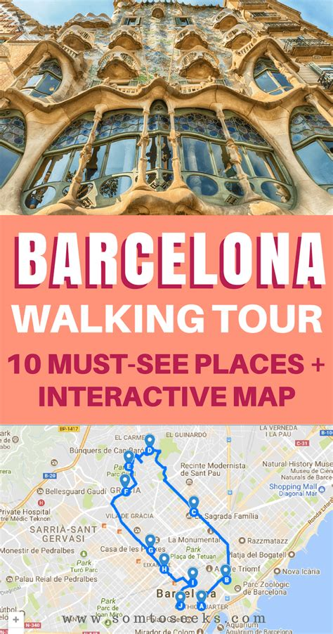 Spain Bucket List: A Self-Guided Walking Tour of Barcelona