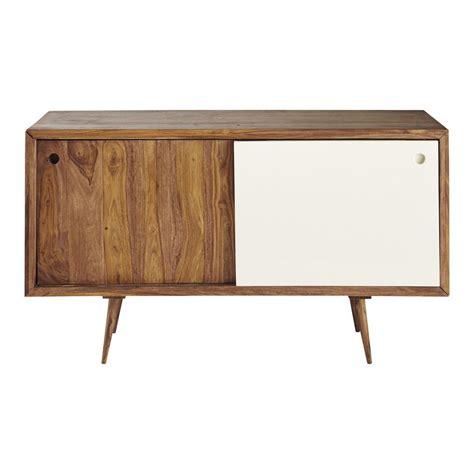 vintage credenza credenza vintage in legno di sheesham l 140 cm andersen