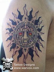 Tribal Sun Tattoo » ₪ AZTEC TATTOOS ₪ Aztec Mayan Inca ...