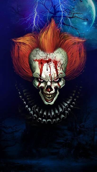 Clown Scary Creepy Blood Halloween Death Park