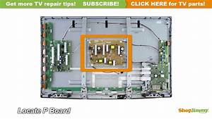 No Power Tv Repair Panasonic N0ab5jk00001 Plasma Tv Repair Tips  P Boards    Power Supply Unit