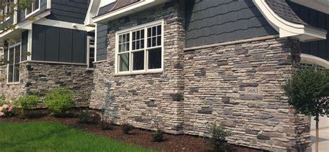 home exterior blend echo ridge black rundle