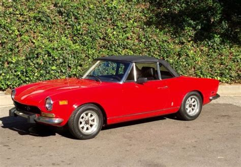 1974 Fiat Spider by 1974 Fiat 124 Spider For Sale Photos Technical