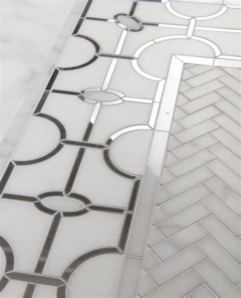mosaics waterjet patterns