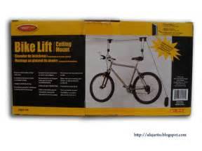 diy blog installing a ceiling mount bike lift