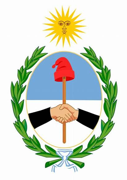 Arms Coat Argentina Juan San Svg Commons