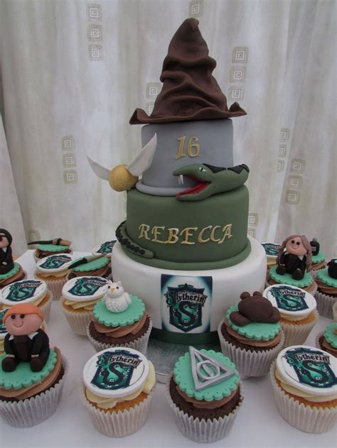 harry potter slytherin cake  cupcakes  images