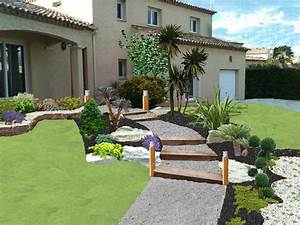 exemple de jardin With exemple de jardin de maison
