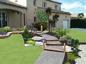 Jardin Paysager Exemple : inspiration jardin pr sentation de la soci t ~ Melissatoandfro.com Idées de Décoration