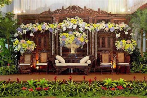 mawarprada dekorasi pernikahan pelaminan jawa klasik