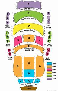 20 Awesome Performing Arts Center Seating Chart