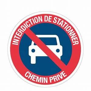 Panneau Interdit De Stationner : ci35 panneau interdiction de stationner chemin priv ~ Dailycaller-alerts.com Idées de Décoration