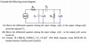 Solved  Consider The Following Circuit Diagram  A  Derive