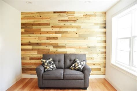 How I Made An Awesome Reclaimed Wood Accent Wall With
