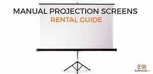 Manual Projection Screens