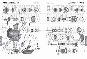 Transmission Repair Manuals A140 - A240