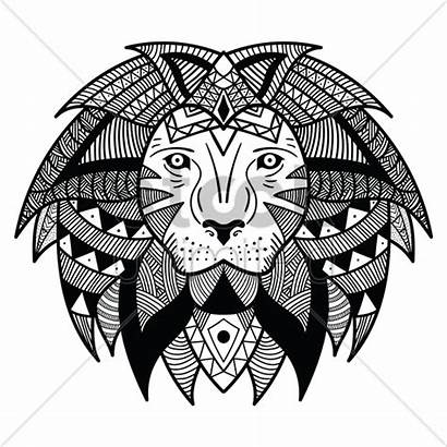 Lion Vector Stylized Illustration Graphic Designs Stockunlimited