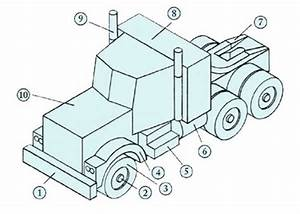 How to make a wooden semi truck - Handyman tips
