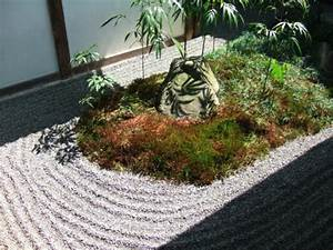 le mini jardin japonais serenite et style exotique With mini jardin japonais d interieur
