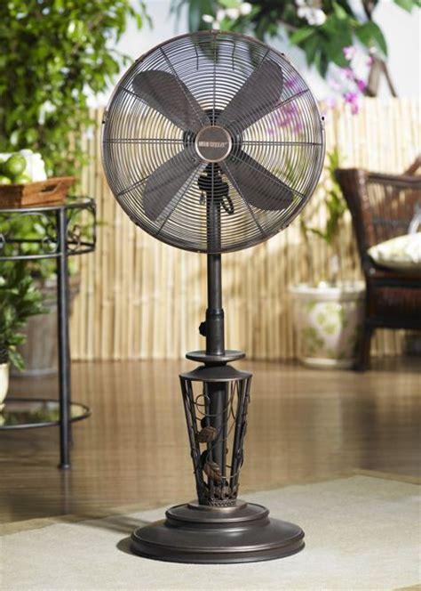 dbf0623 vines outdoor patio fan floor standing outdoor