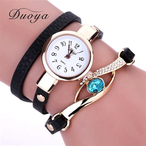 Duoya New Brand Eye Gemstone Luxury Watches Women Gold. Saphire Diamond. Patek Philippe Watches. Skin Watches. Plain Gold Bands. Ruby Bands. Temple Gold Jewellery. Blue Stone Engagement Rings. Diamond Band
