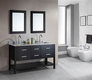 61, Inch, Double, Sink, Bathroom, Vanity, In, Espresso, Uvdedec077c60