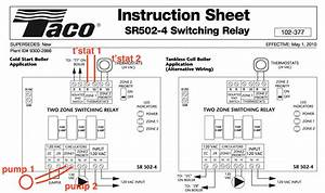 Taco Cartridge Circulator 007 F5 Wiring Diagram Sample