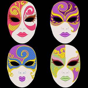 pretty full face masks designs - Google Search | Masks ...