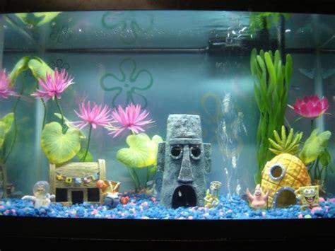 spongebob aquarium decor philippines spongebob fish tank fish baby rooms
