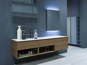 meubles de salle de bain lesquels choisir With salle de bain design avec meuble sous vasque de salle de bain