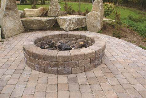 firepit wall make an ugly hillside beautiful with retaining walls mutual materials