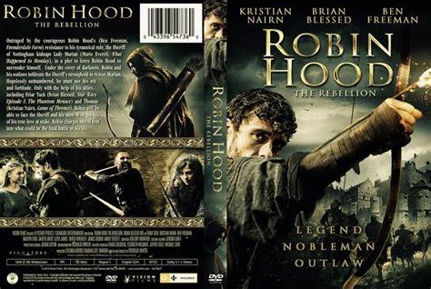 Robin Hood The Rebellion (2018) Dvd Custom Cover