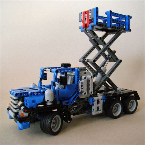 lego technic alternative alternatives to the a and b versions of 8052 container truck lego technic and model team