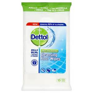 dettol anti bacterial cleansing floor wipes large x 15 at wilko com