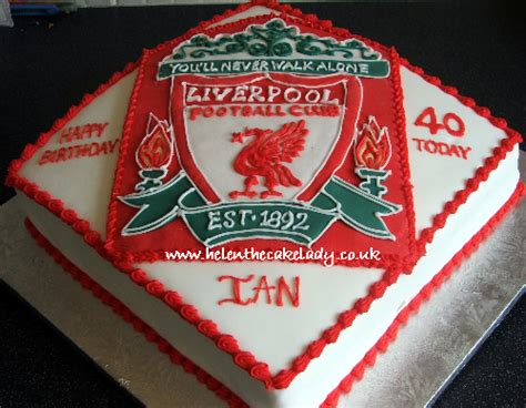 Liverpool Fc Cake  Flickr  Photo Sharing