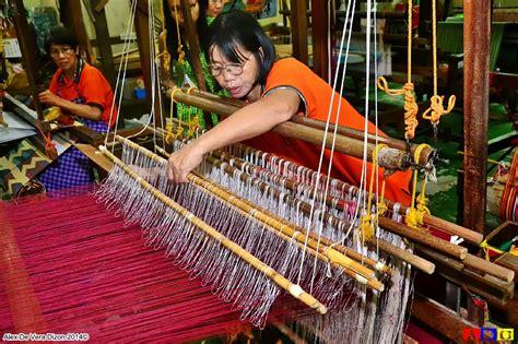 rammmpa  surprise visit  baguios easter weaving room