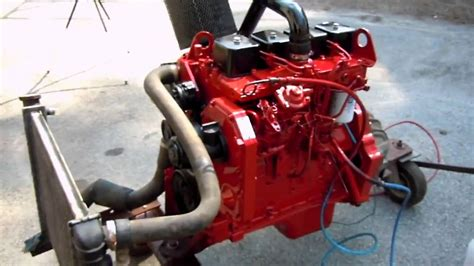 4bt cummins twin turbo cummins 4bt 3 9 turbo charged diesel in memory of doug