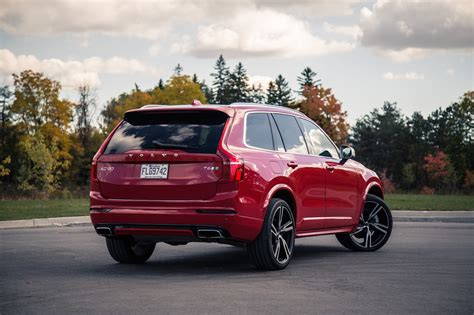 volvo xc90 r design review 2016 volvo xc90 t6 r design canadian auto review
