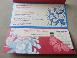boarding pass wedding invitations diy boarding pass wedding invitations part one pocket fold of kle