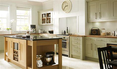 Heritage Sage Green Kitchen  Wickescouk