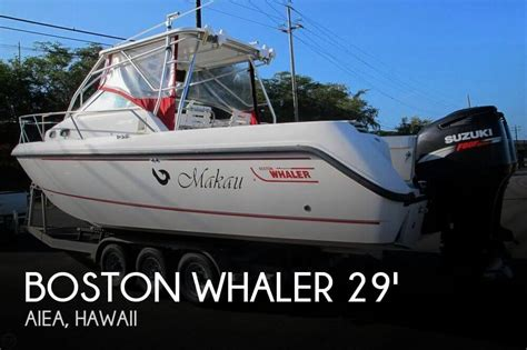 Boston Whaler Boats For Sale In Hawaii by For Sale Used 2003 Boston Whaler 295 Conquest Walkaround
