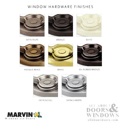 truth casement lock assembly  marvin windows  hand choose color