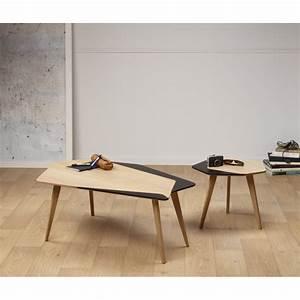 Made Table Basse : table basse design l gante personnalisable en bois made ~ Melissatoandfro.com Idées de Décoration